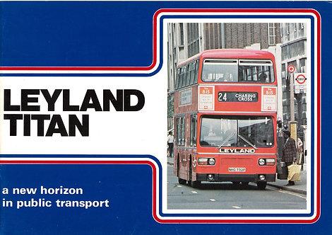 Manufacturer's Brochure - Leyland