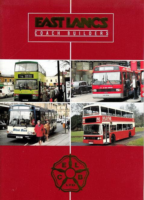 Manufacturer's Brochure - East Lancs Coachbuilders