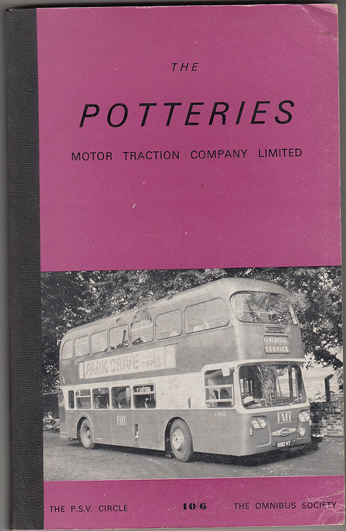 Potteries Motor Traction Co - Fleet History 2PD1