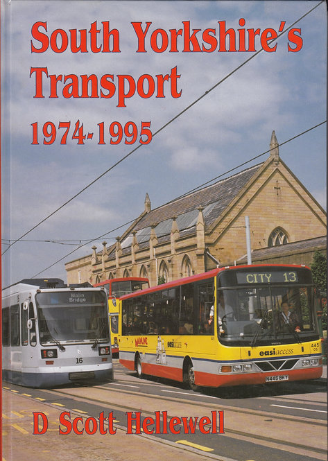 South Yorkshire' Transport 1974-1995