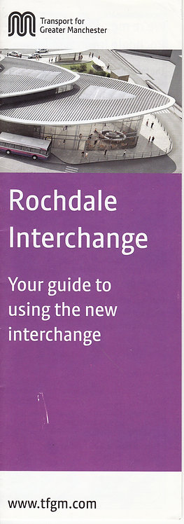 TfGM - Rochdale Interchange - 2013