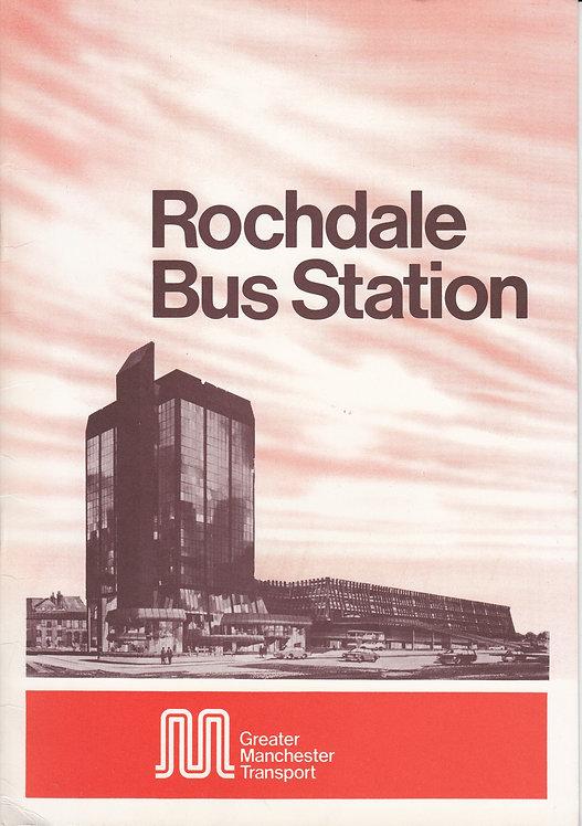 Rochdale Bus Station - Opening Brochure 1978