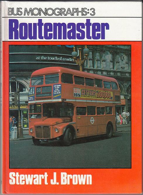 Routemaster - Bus Monographs 3