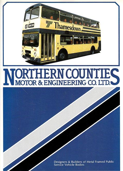 Manufacturer's Brochure - Northern Counties