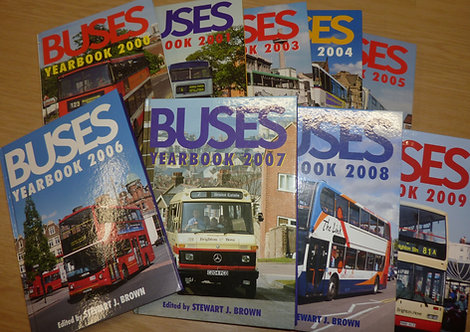 Buses Yearbook - 2000s