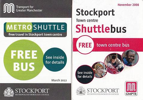 TfGM - Metroshuttle service for Stockport - 2008 & 2012