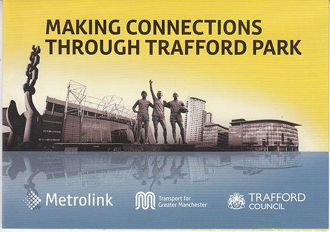 Metrolink - Promotional Leaflet for the Trafford Park line - 2016
