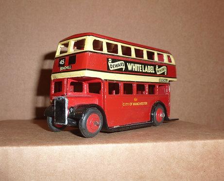 Vintage Dinky 290 - AEC Double Decker Bus (Manchester)