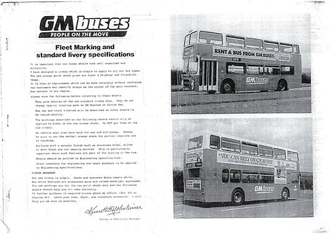 GM Buses Livery Specification 1988 (PDF download)