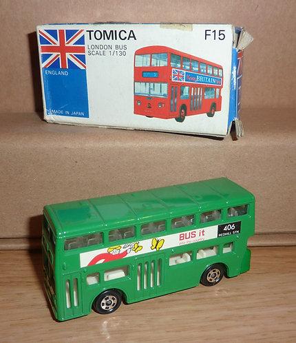 Vintage Tomica 15 - London Bus