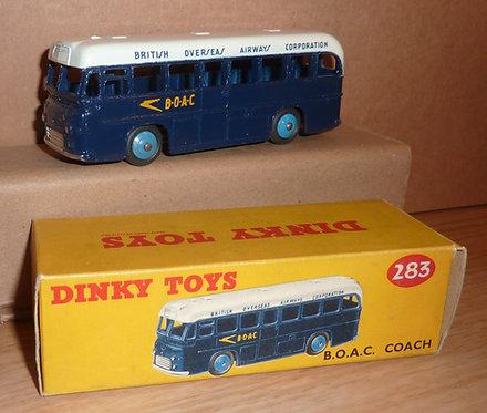 Vintage Dinky 283 - BOAC Coach