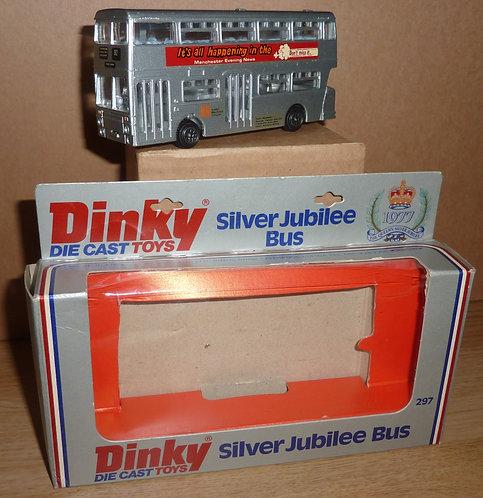 Vintage Dinky 297 - Silver Jubilee Bus