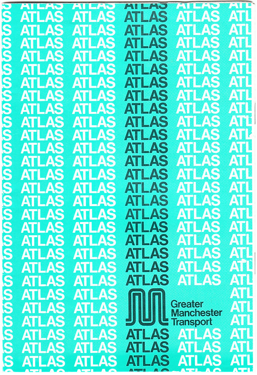 Greater Manchester Transport Atlas - November 1984