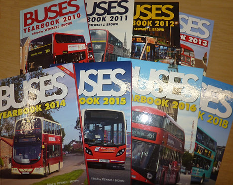 Buses Yearbook - 2010s