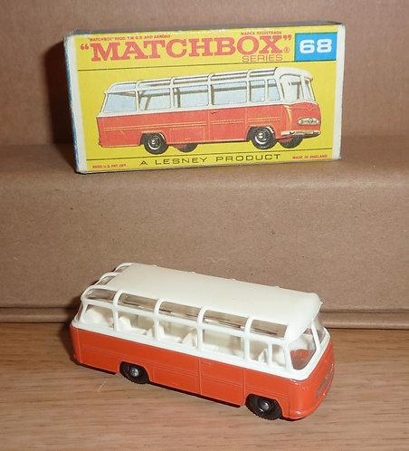 Vintage Matchbox 68 - Mercedes Coach