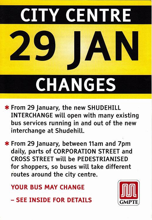 GMPTE - City Centre Changes - 2006