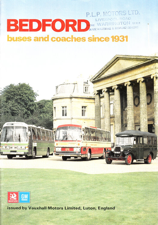 Bedford - Buses & Coaches since 1931