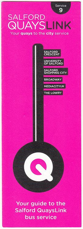 Bus Timetable Leaflet - Service 9 - June 2010