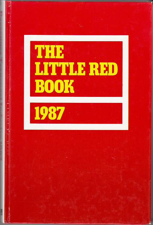 The Little Red Book - 1987