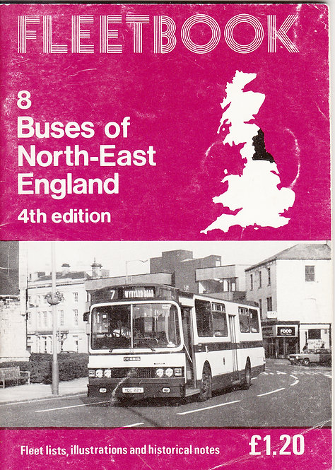 Fleetbook 8 - North East England - 4th Edition - 1983
