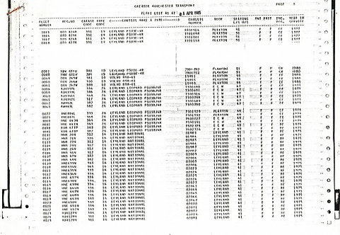Fleet List 1985-04-01 GMT (PDF download)