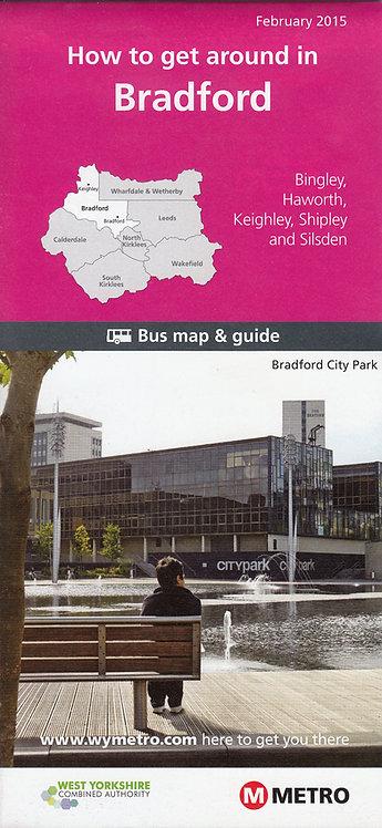 West Yorkshire Metro Map - Bradford - 2015