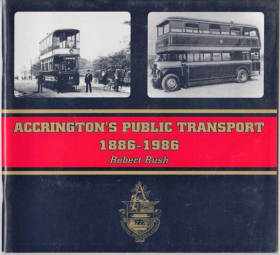Accrington's Public Transport 1886-1986