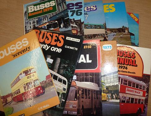 Buses Yearbook - 1970s