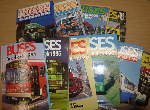 Buses Yearbook - 1990s
