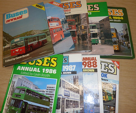 Buses Yearbook - 1980s