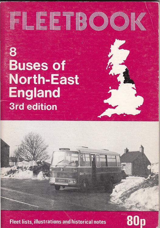Fleetbook 8 - North East England - 3rd Edition - 1981