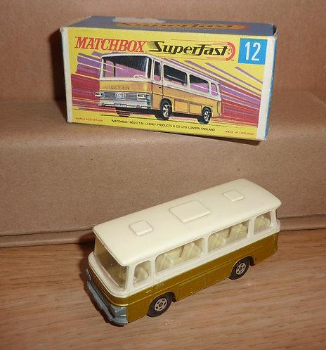 Vintage Matchbox 12 - Setra Coach