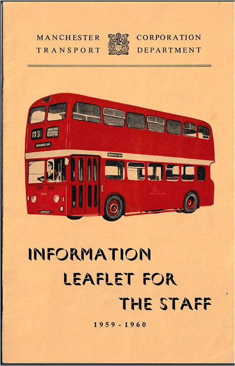 Manchester City Transport Annual Report to Staff - 1960