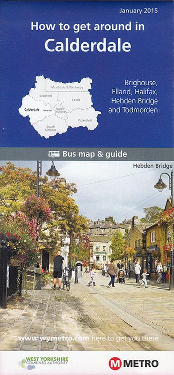 West Yorkshire Metro Map - Calderdale - 2015