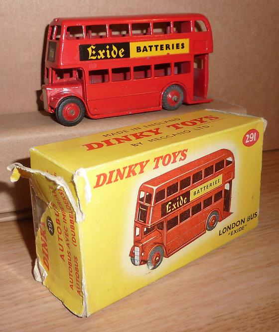 Vintage Dinky 291 - London Bus Exide