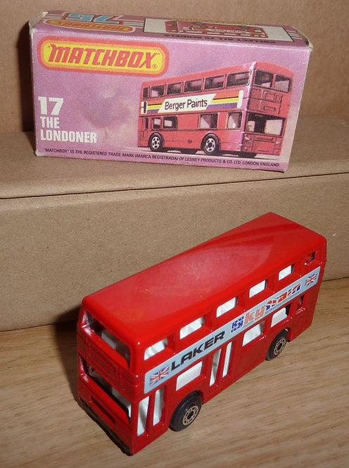 Vintage Matchbox 17 - The Londoner