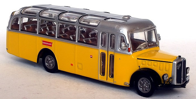 Swiss Post Bus - Saurer L4C 1959