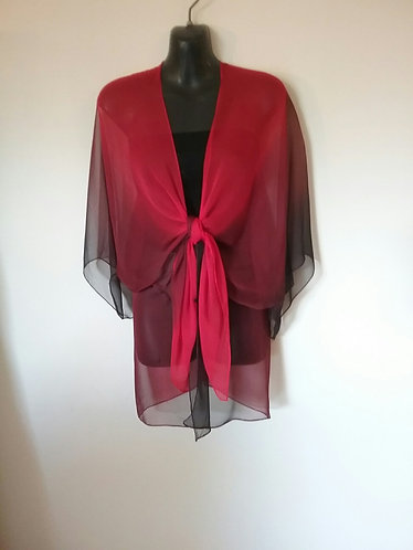 Red Black wrap