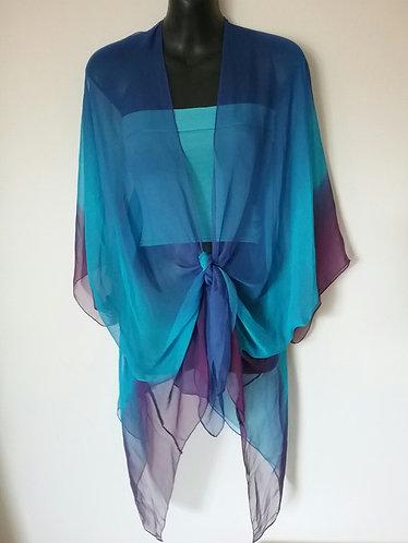 Blue Purple blend wrap