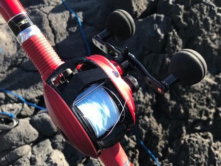 両軸遠投カゴ釣り界で噂のトロロケット現る。伊豆大島で美味しいお魚は・・・