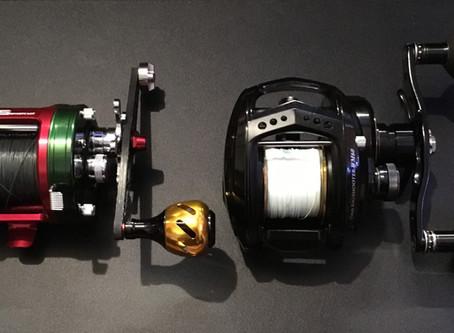 ABU 6500CS VS BigShooter WM60。両軸遠投カゴ釣りインプレッション。