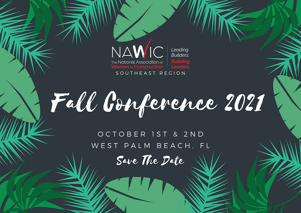 Save the date - Fall Conference 2021 - H
