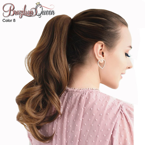 Straight Ponytail  Color 8 , 100 grams