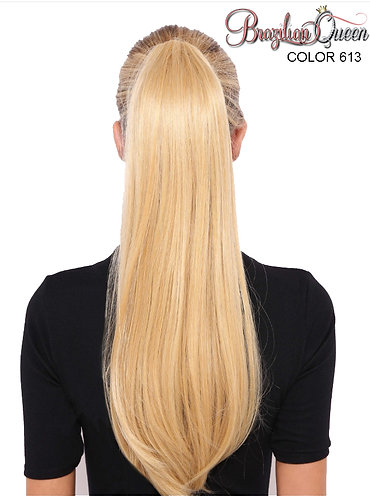 Straight Ponytail  Color 613, 120 grams