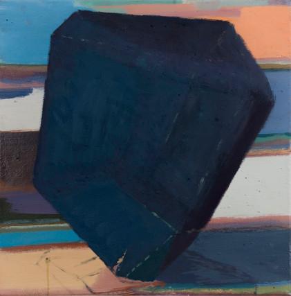 Jewel kiesox 2019 Eitempera, Öl und Pigmente auf Leinwand 40 x 40 cm