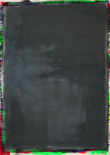 #1250 2016 Acryl auf Leinwand 140 x 100 cm