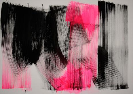 #1003 2018 Acryl auf Leinwand 100 x 140 cm