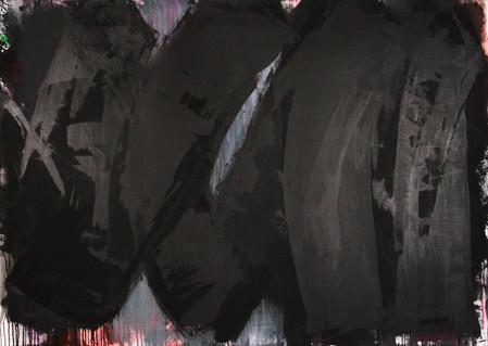 #1077 2019 Acryl auf Leinwand 100 x 140 cm