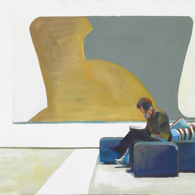 Art break 2009 Öl auf Leinwand 70 x 100 cm
