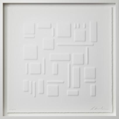 Ralph Kerstner White Journey 55 x 55 cm